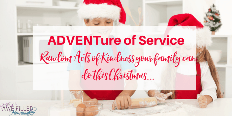 The ADVENTure of Service + Printable