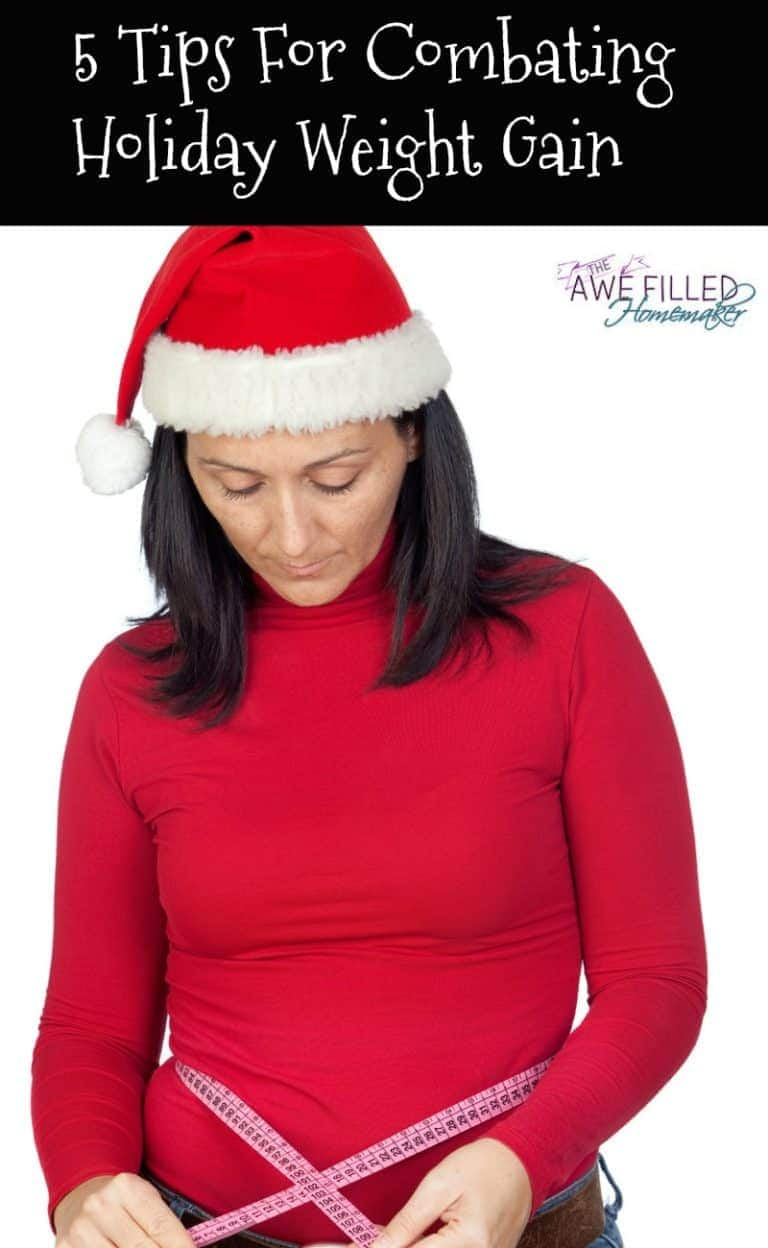 5 tips for combating Holiday Weight Gain
