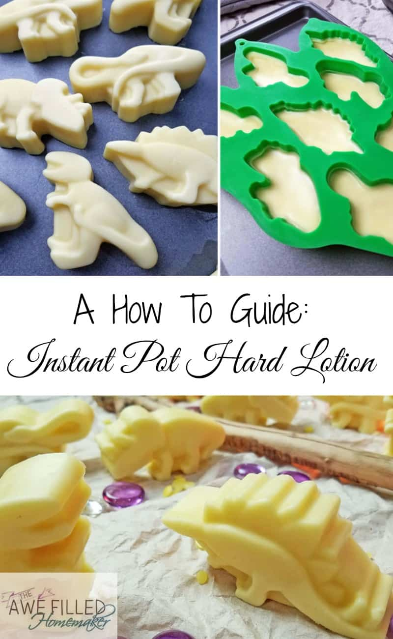 Instant Pot Hard Lotion