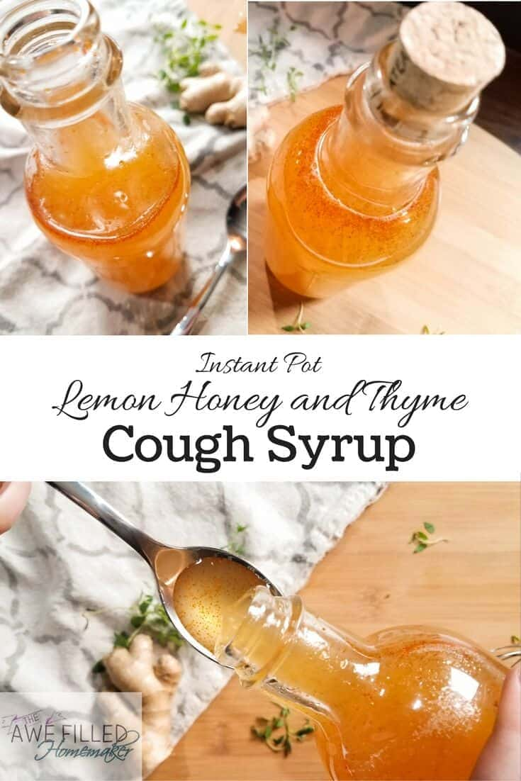 Instant Pot Cough Syrup