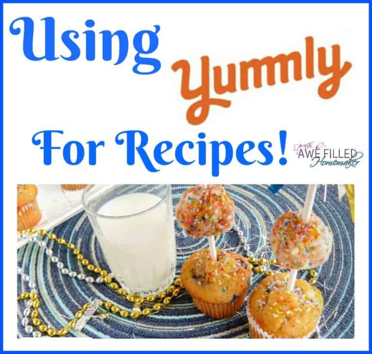Using Yummly For Recipes