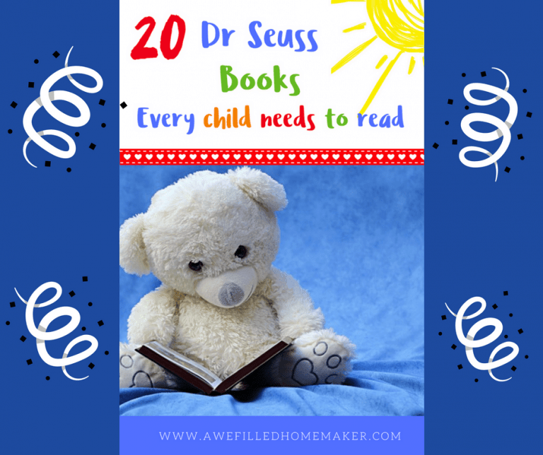 20 Dr Seuss Books Every Child Needs To Read