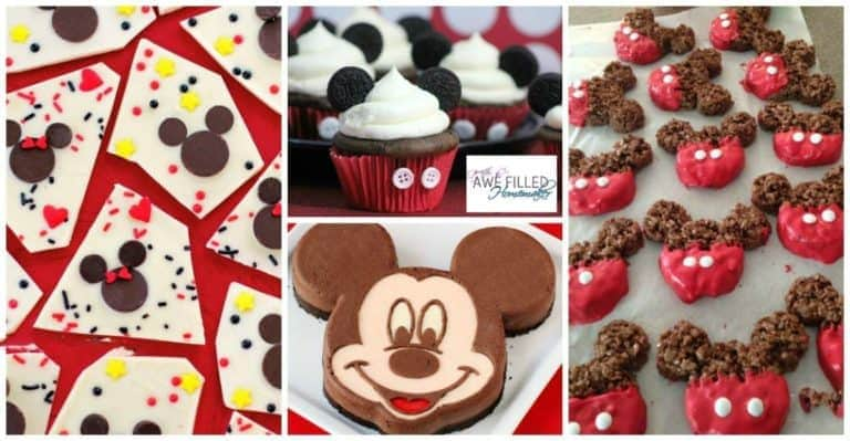 22 Mickey Mouse Inspired Treats And Eats!