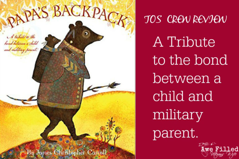 Papa's Backpack {TOS CREW REVIEW}