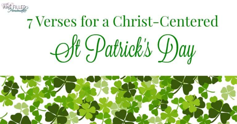 7 Verses For A Christ Centered St. Patrick's Day