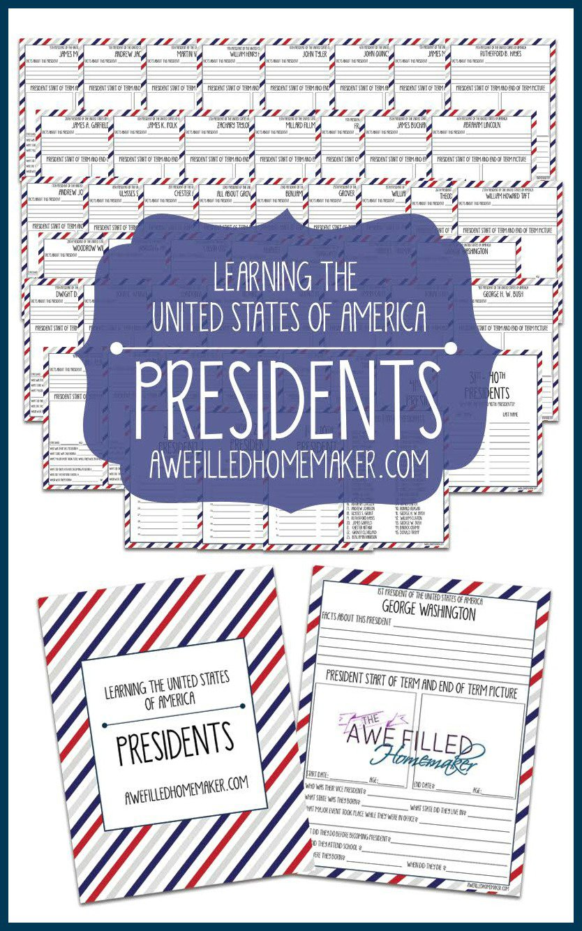 Presidents Day Resources!