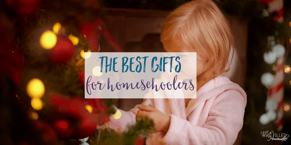 best gifts for homeschoolers