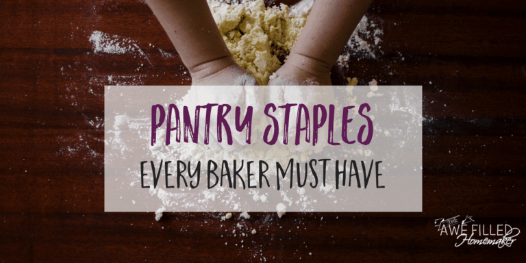 Pantry Staples Every Baker Should Have