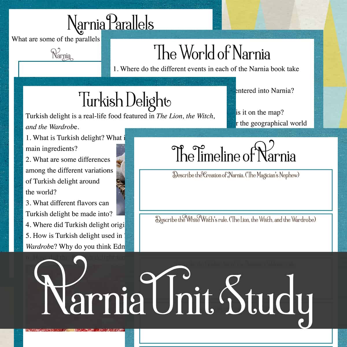 Chronicles of Narnia Study