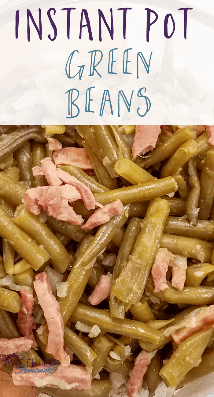 Instant Pot Country Style Green Beans