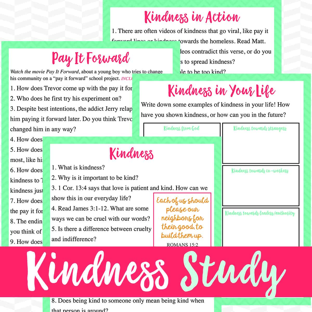 Kindness Study For Adults