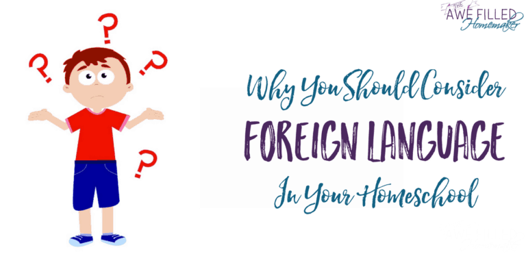 Why You should Consider Foreign Language In Your Homeschool