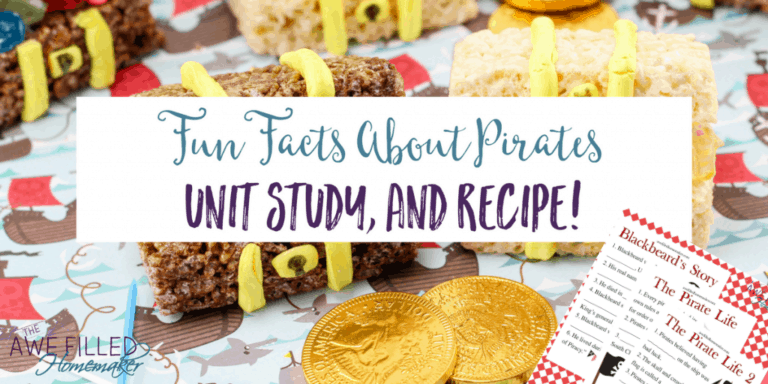 Ahoy Matey! Fun Facts About Pirates Study +Recipe!