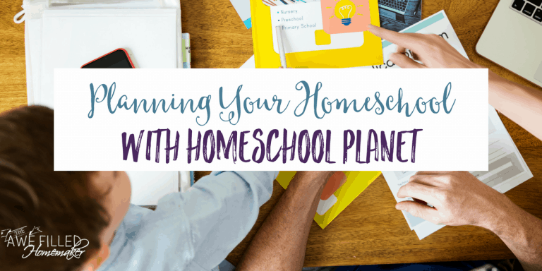 Get Organized With Homeschool Planet