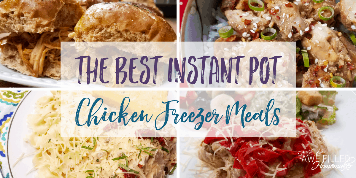 instant pot chicken freezer meals