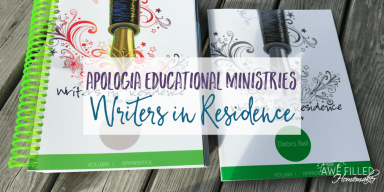 Apologia Educational Ministries : Writers in Residence!