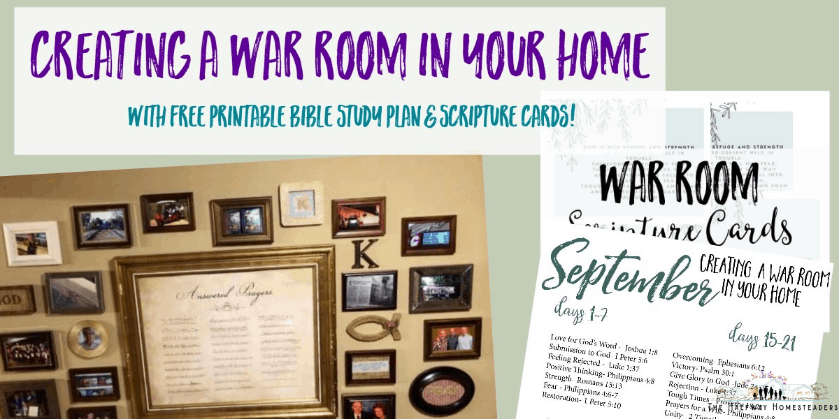 Creating A War Room In Your Home