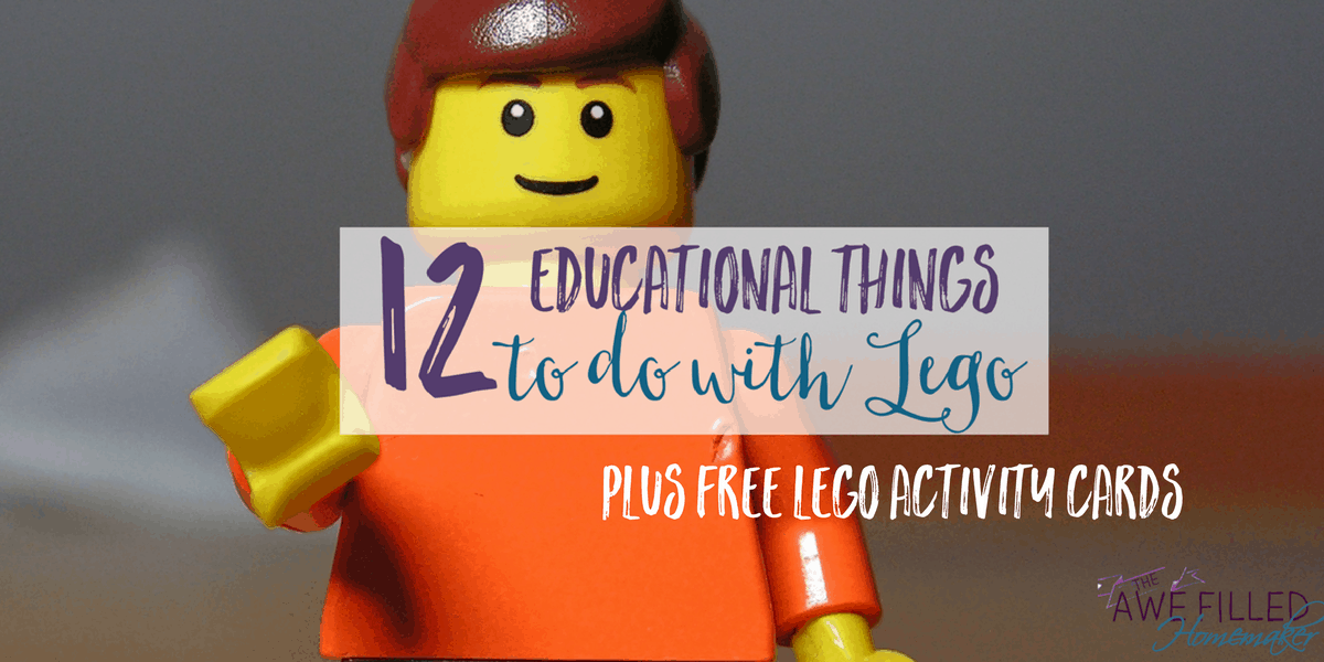 12 Educational Things To Do With Lego + FREEBIE