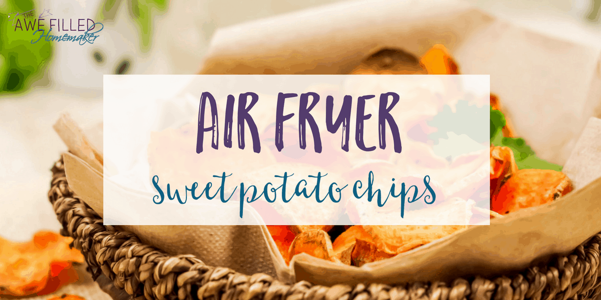Air Fryer sweet potato recipe is a delicious snack or appetizer