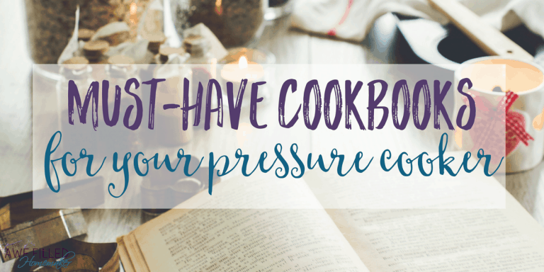 Must-Have Cookbooks For Your Instant Pot