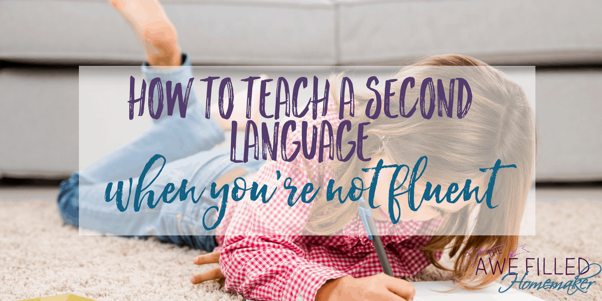 How To Teach A Second Language When You're Not Fluent
