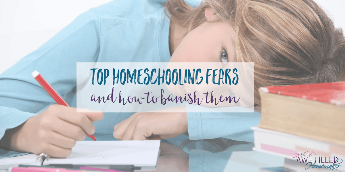 Top Homeschooling Fears (and How to Banish Them)