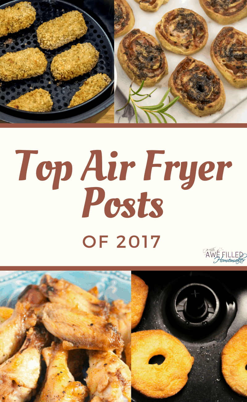 My top Air Fryer Recipes my readers find most popular