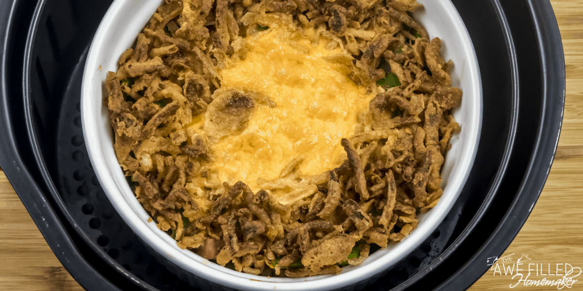 Air Fryer Green Bean Casserole