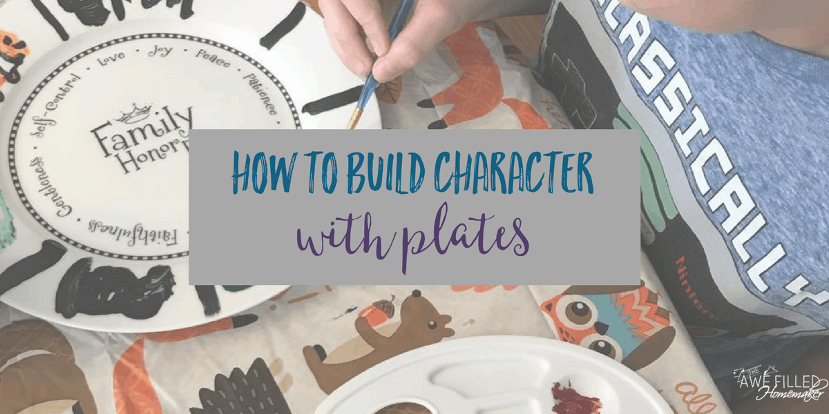 How To Build Character With Plates