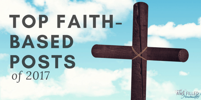 Top Faith Based Posts of 2017