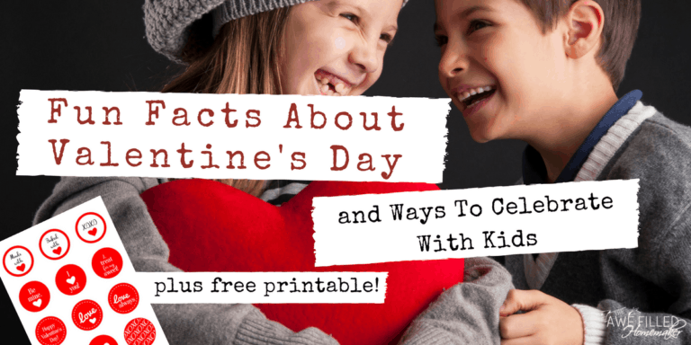 Fun Facts About Valentine's Day and Ways To Celebrate With Kids