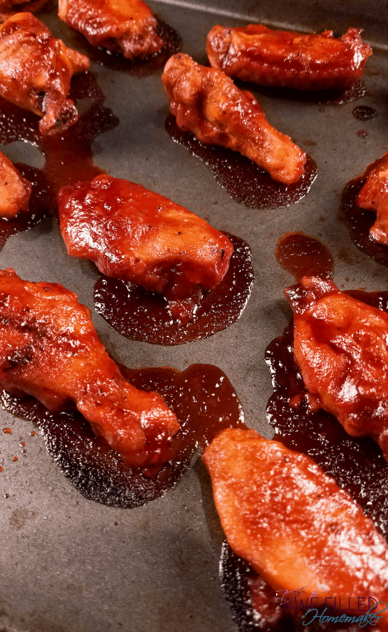 Delicious, mouthwatering wings are ready from the oven in just a few minutes!