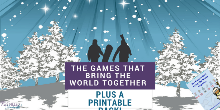 The Games That Bring The World Together + Printable Pack