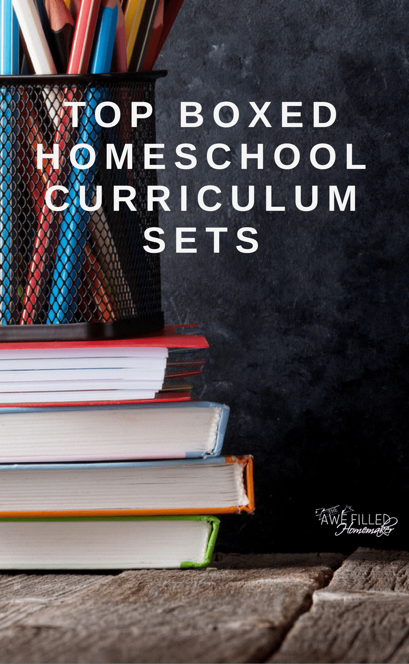 Top Boxed Homeschool Curriculum Sets Awe Filled Homemaker