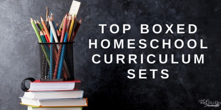 Top Boxed Homeschool Curriculum Sets