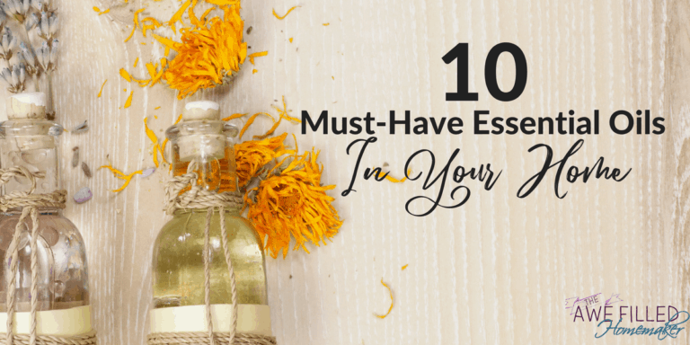 10 Must Have Essential Oils For Your Home
