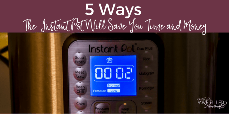 5 Ways The Instant Pot Will Save You Time & Money