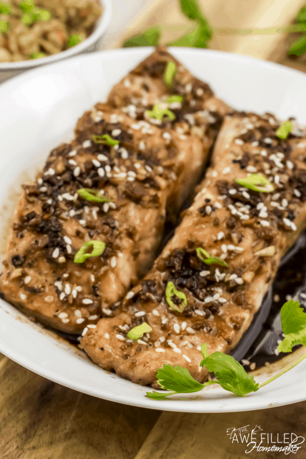 Asian Salmon For The Instant Pot
