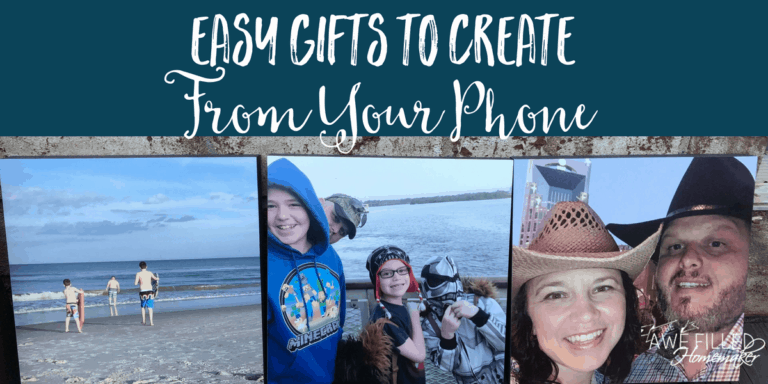 Easy Gifts To Create From Your Phone