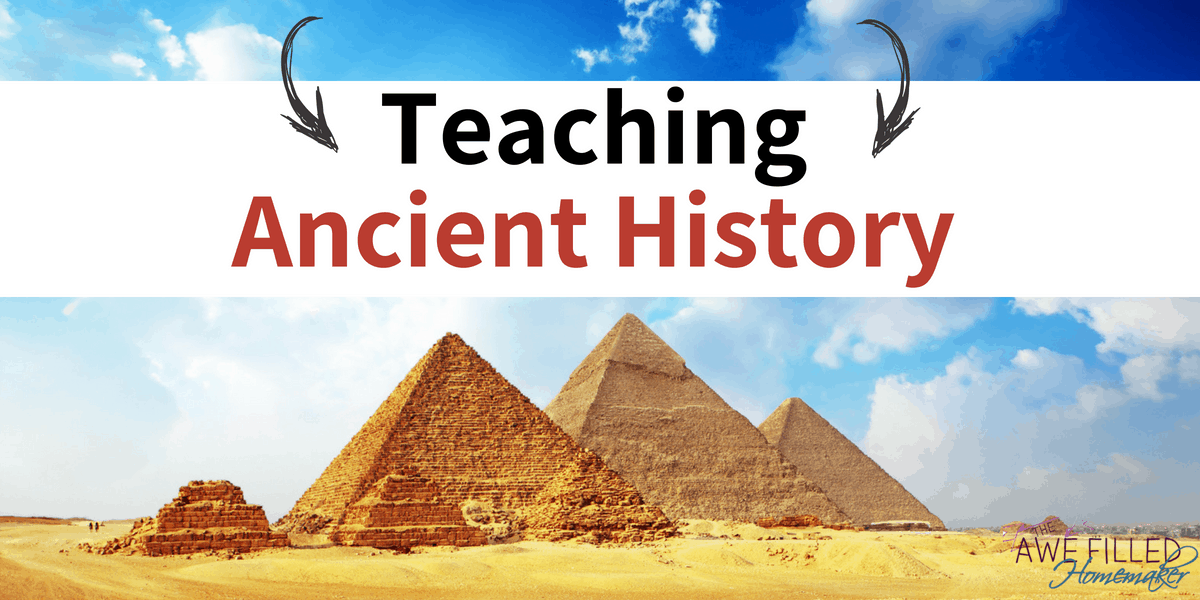 Going Back in History: Teaching Ancient History