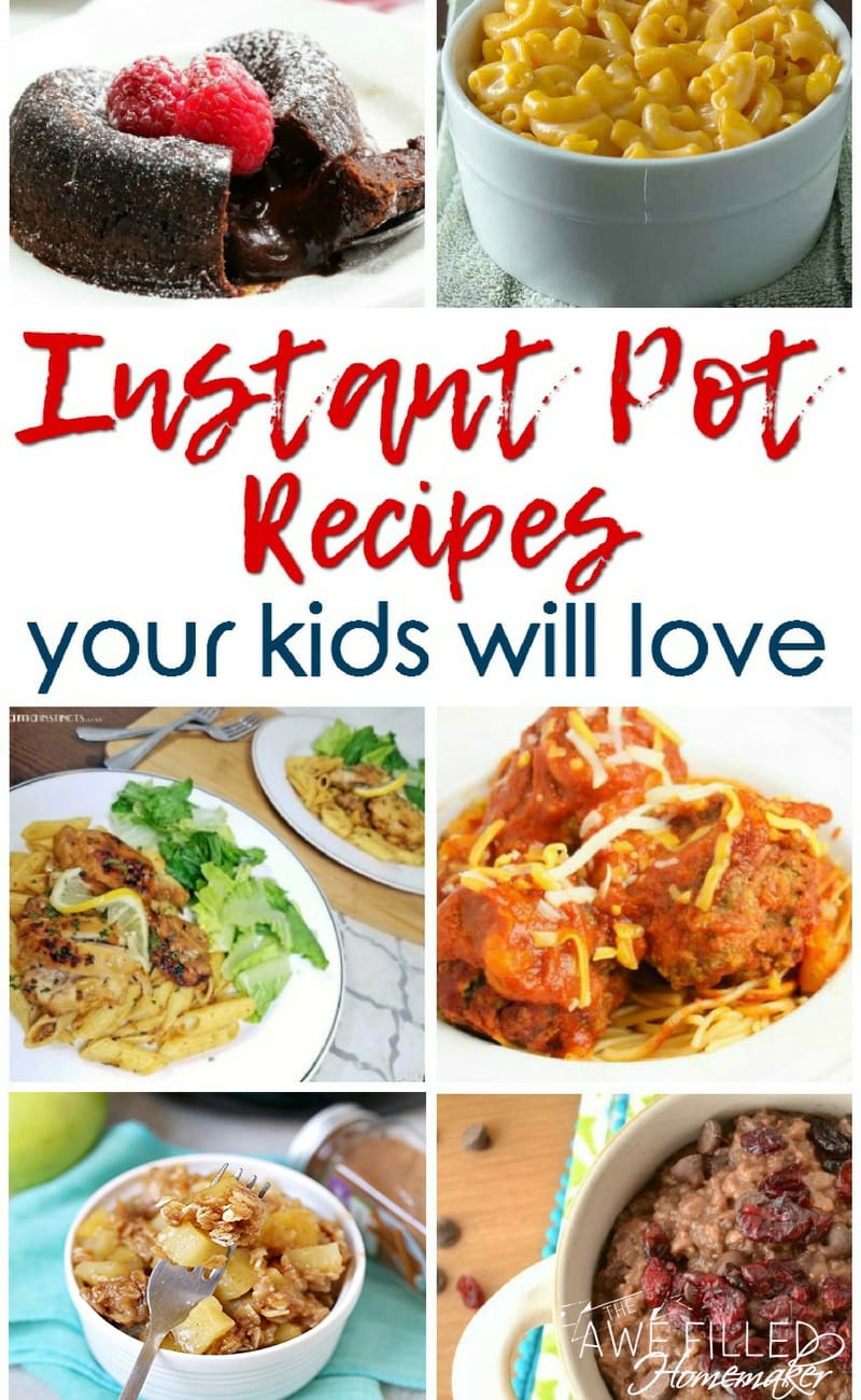 Instant Pot Recipes Your Kids Will Love