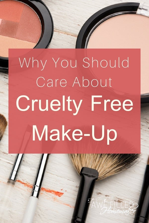 Why you should care about cruelty free makeup