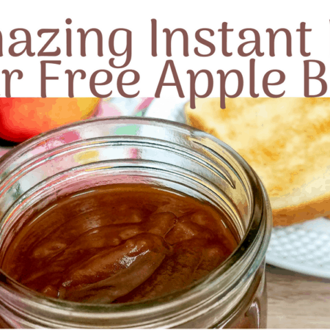 Amazing Instant Pot Sugar Free Apple Butter