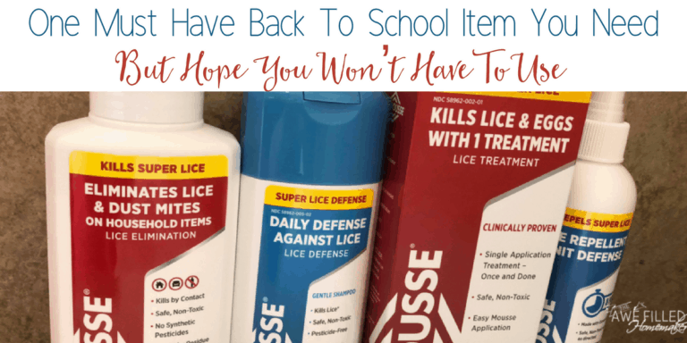 One Must Have Back To School Item You Need-But Hope You Won't Have To Use