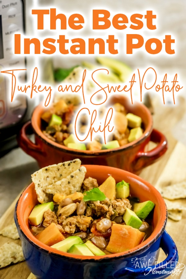 Instant Pot Turkey & Sweet Potato Chili