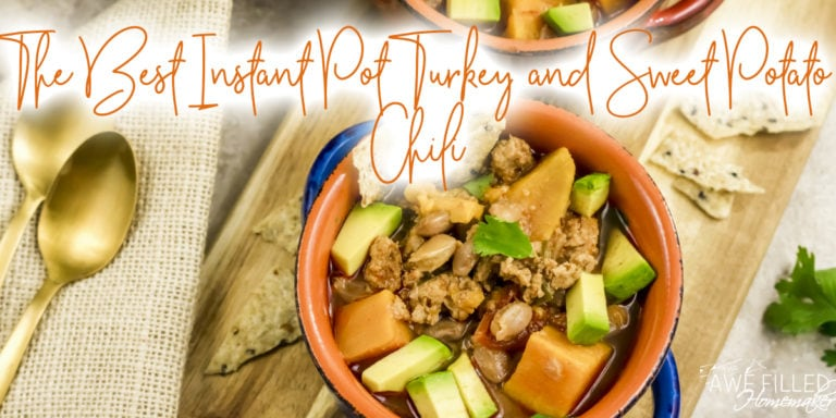 The Best Instant Pot Turkey & Sweet Potato Chili