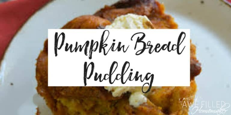 Slow Cooker Pumpkin Bread Pudding