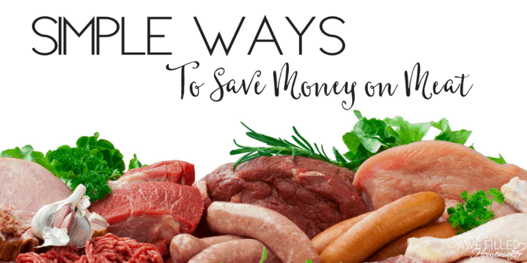 Simple Ways to Save Money On Meat