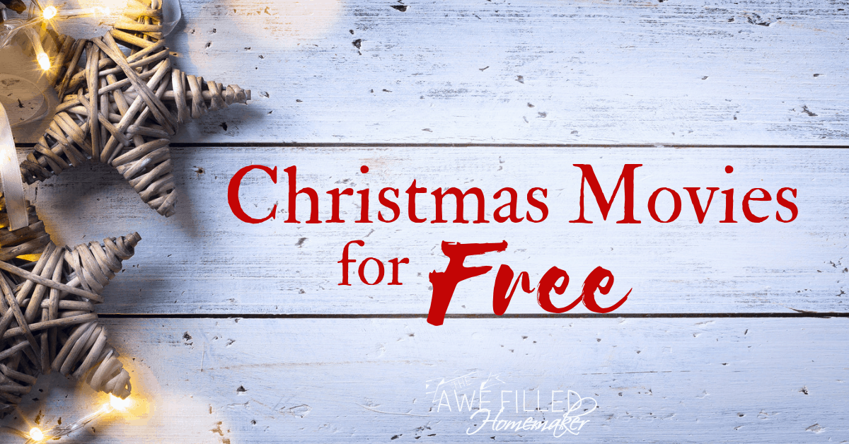 Christmas Movies For Free
