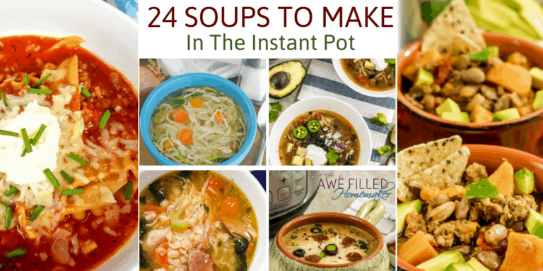 24 Soups To Make In The Instant Pot